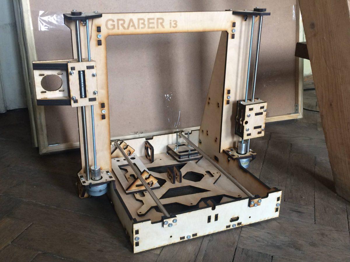 Graber i3, каркас для 3d принтера